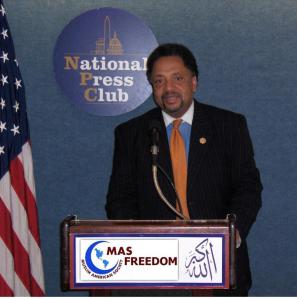 MAS Freedom Civil and Human Rights Director, Ibrahim Abdil-Mu'id Ramey.